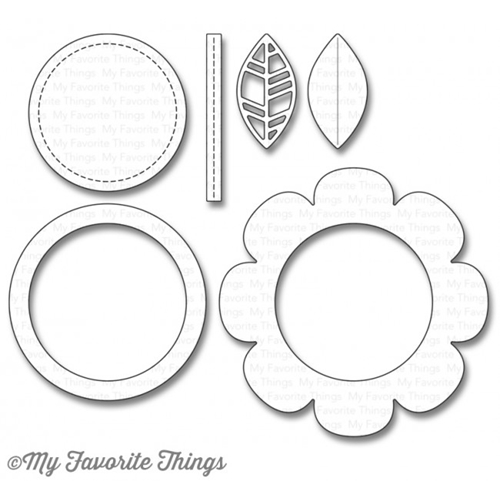 My Favorite Things SHAKER FLOWER Die-Namics MFT1107 Preview Image