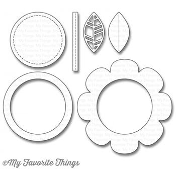 My Favorite Things SHAKER FLOWER Die-Namics MFT1107