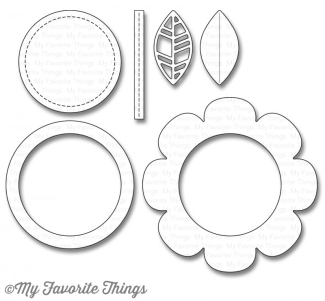 My Favorite Things SHAKER FLOWER Die-Namics MFT1107 zoom image