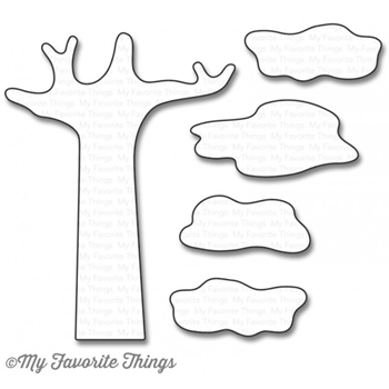 My Favorite Things SAFARI TREE Die-Namics MFT1112