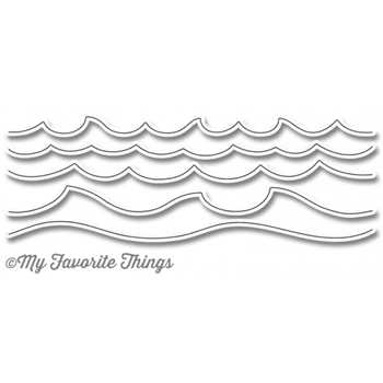 My Favorite Things OCEAN WAVES Die-Namics MFT1111