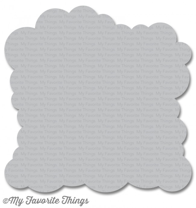 My Favorite Things CLOUD Mix-ables Stencil MFT ST99