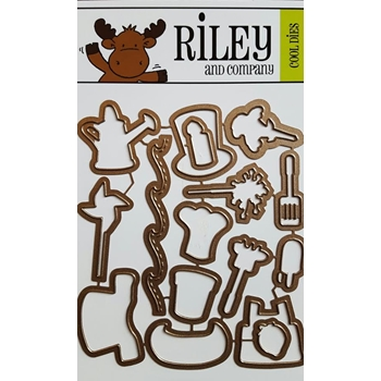 Riley and Company Cool Dies SUMMER FUN ACCESSORIES RD09