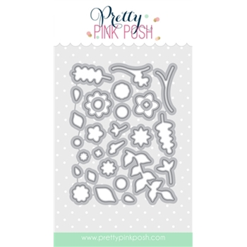 Pretty Pink Posh BUILD A BLOOM COORDINATING DIE Set