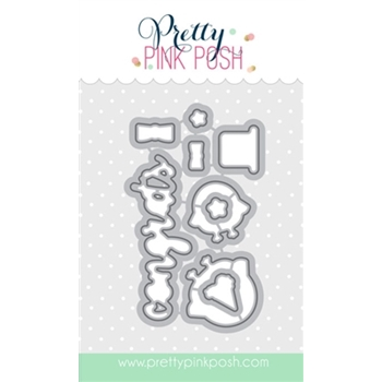 Pretty Pink Posh HAPPY OWLS COORDINATING DIE Set