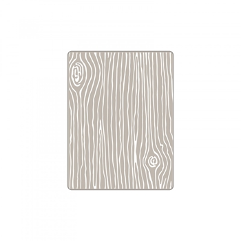 Sizzix WOODGRAIN 4 Embossing Folder Textured Impressions 661925