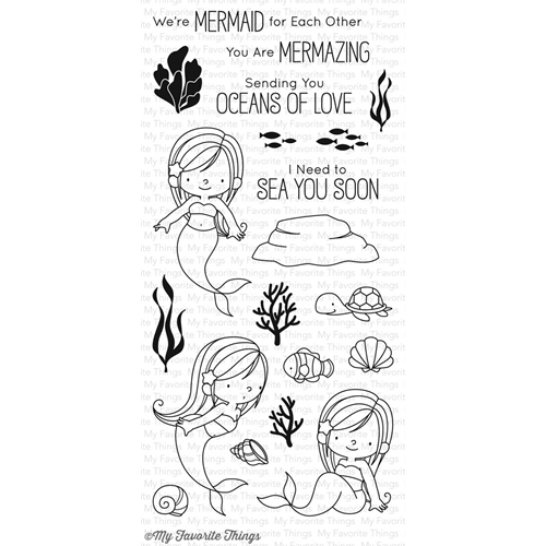 My Favorite Things MERMAZING Clear Stamps BB45 Preview Image