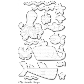 My Favorite Things OCEAN PALS Die-Namics MFT1102