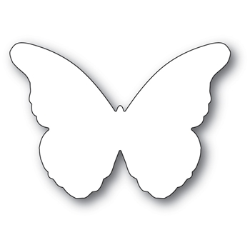 Memory Box CHANTILLY BUTTERFLY BACKGROUND Craft Die 99783