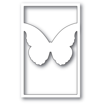 Memory Box VIVIENNE BUTTERFLY SILHOUETTE Craft Die 99779