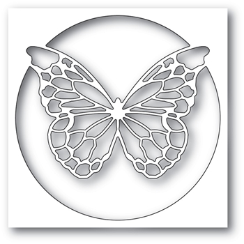 Memory Box CHANTILLY BUTTERFLY COLLAGE Craft Die 99781