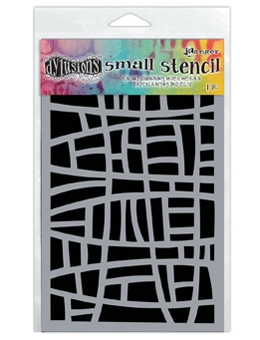 Dyan Reaveley Stencil 5 x 8 STAINED GLASS Dylusions DYS55655