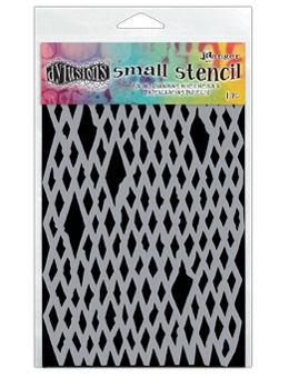 Dyan Reaveley Stencil 5 x 8 DIAMOND IN THE ROUGH Dylusions DYS55617
