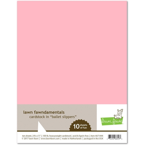 Lawn Fawn BALLET SLIPPERS Cardstock LF1444 Preview Image