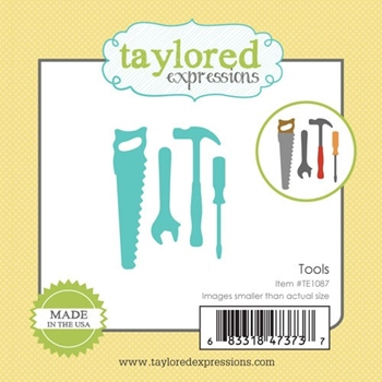 Taylored Expressions Little Bits TOOLS Die Set TE1087