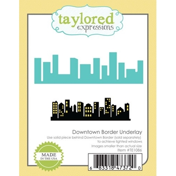 Taylored Expressions DOWNTOWN BORDER UNDERLAY Die Set TE1086