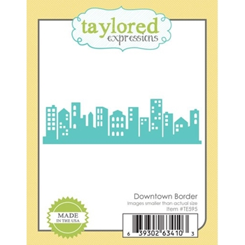 Taylored Expressions DOWNTOWN BORDER Die Set TE595