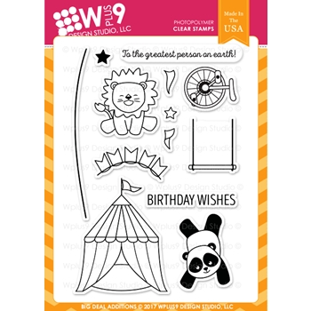 Wplus9 BIG DEAL ADDITIONS Clear Stamps CL-WP9BDA