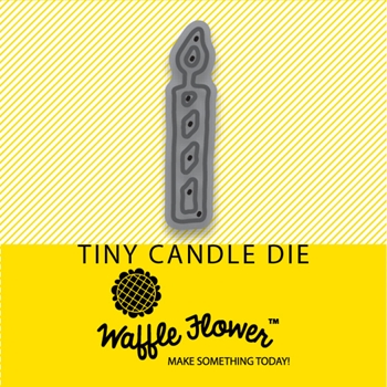 Waffle Flower TINY CANDLE DIE 310148