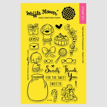 Waffle Flower SWEETS Clear Stamp Set 271109