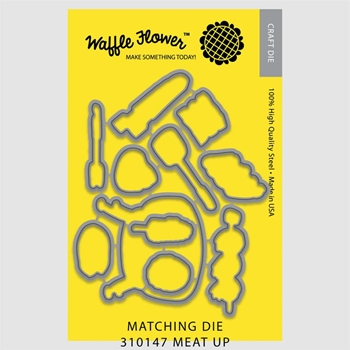 Waffle Flower MEAT UP DIE Set 310147