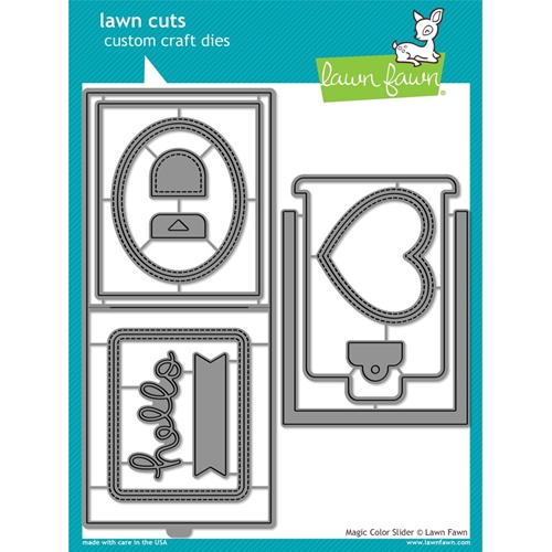 Lawn Fawn MAGIC COLOR SLIDER DIES Lawn Cuts LF1438 Preview Image