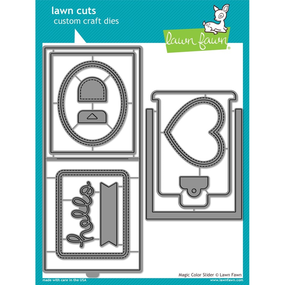 Lawn Fawn MAGIC COLOR SLIDER DIES Lawn Cuts LF1438