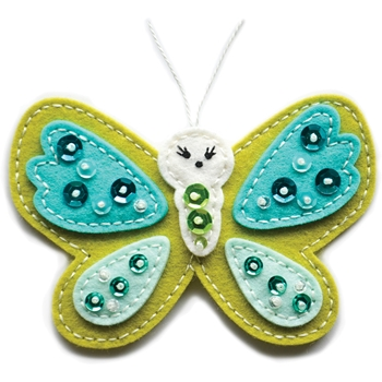 Memory Box PLUSH CUTE BUTTERFLY Craft Die 99755