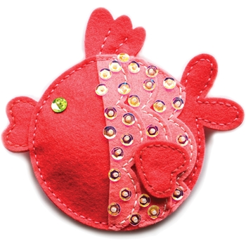 Memory Box PLUSH FUNNY FISH Craft Die 99768