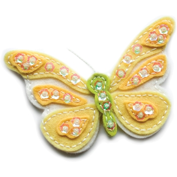 Memory Box PLUSH ELEGANT BUTTERFLY Craft Die 99762