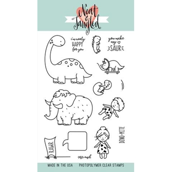 Neat and Tangled PREHISTORIC Clear Stamp Set NAT264