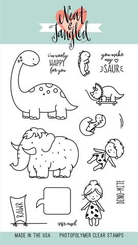 Neat and Tangled PREHISTORIC Clear Stamp Set NAT264 zoom image