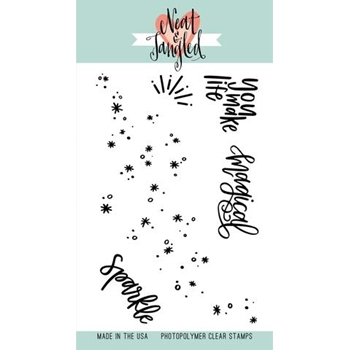 Neat and Tangled FAIRY DUST Clear Stamp Set NAT263