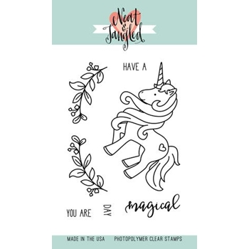 Neat and Tangled MAGICAL DAY Clear Stamp Set NAT260