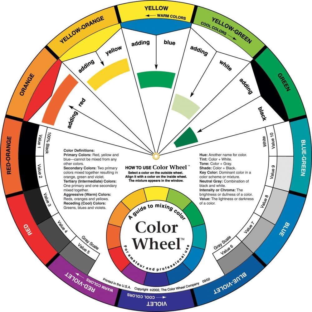 COLOR WHEEL 9.25 Inch Tool 3451 zoom image
