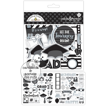 Doodlebug HATS OFF Odds and Ends Die Cuts 5596
