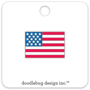 Doodlebug USA FLAG Collectable Enamel Pin Yankee Doodle 5693