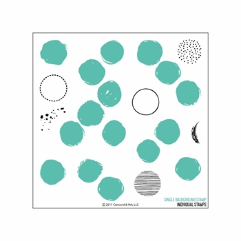 Concord & 9th DOTTY TURNABOUT Clear Stamp Set 10207C9