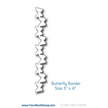 Your Next Die BUTTERFLY BORDER YNSD607
