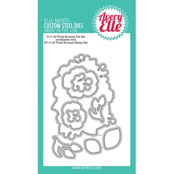 Avery Elle Steel Dies FLORAL BOUQUET D-17-20