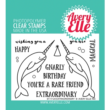 Avery Elle Clear Stamps EXTRAORDINARY ST-17-24
