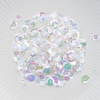 Little Things From Lucy's Cards CLEAR IRIDESCENT Sequin Mix LBSM11
