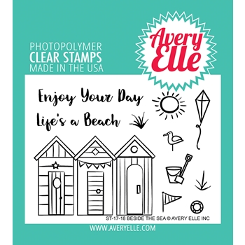 Avery Elle Clear Stamps BESIDE THE SEA ST-17-18