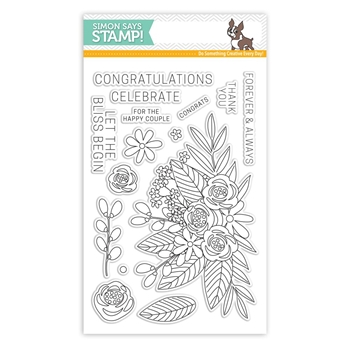 Simon Says Clear Stamps FLORAL BLISS SSS101707