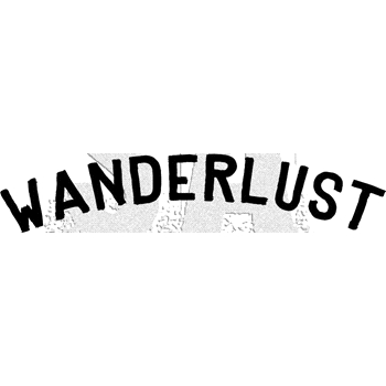 Tim Holtz Rubber Stamp WANDERLUST Stampers Anonymous E3-3008