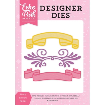 Echo Park FANCY BANNER Die Set PP130042