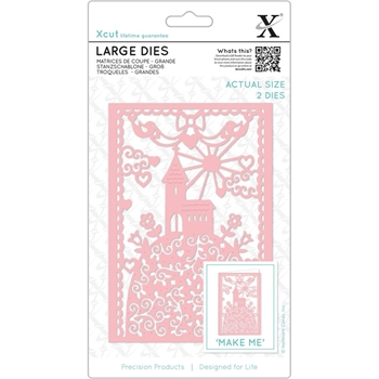 DoCrafts HILLTOP CHURCH XCut Dies Set XC503316