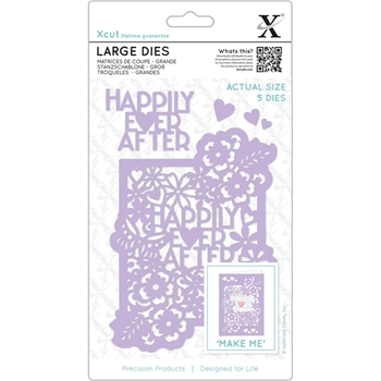 DoCrafts HAPPILY EVER AFTER XCut Dies Set XC503318