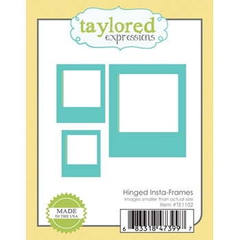 Taylored Expression HINGED INSTA-FRAMES Die Set TE1102