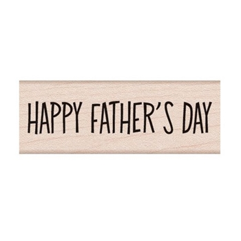 Hero Arts Rubber Stamp HAPPY FATHERS DAY C6228